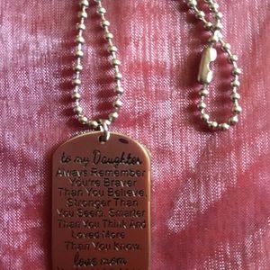 Jewelry - Dog tag
